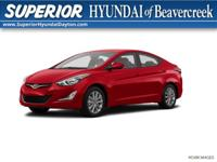 Recent Arrival! 2014 Hyundai Elantra SE CERTIFIED TO