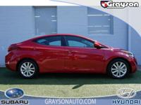 PRICE DROP FROM $14,988. CARFAX 1-Owner, Hyundai