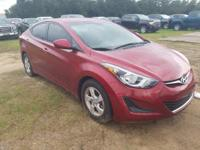 Venetian Red 2014 Hyundai Elantra SE FWD 6-Speed