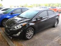 Phantom Black 2014 Hyundai Elantra SE FWD 6-Speed