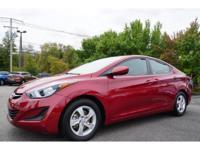 Options:  2014 Hyundai Elantra Se|The Car You've Always