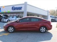 Hyundai Certified ,Alloy Wheels,4-Cyl, 1.8 Liter,Auto,
