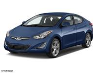 This 2014 Hyundai Elantra 4DR SDN AUTO SE (ULSAN PL