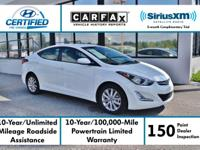 New Price! Certified. This 2014 Hyundai Elantra SE