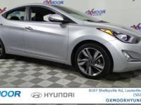 Hyundai Elantra CARFAX One-Owner. Odometer is 7311