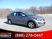 Load your family into the 2014 Hyundai Elantra! Simply