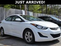 This Elantra features: 15 Alloy Wheels, Delay-off