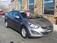 Clean and needs nothing but a new owner. This Elantra