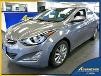 This 1-Owner Hyundai Elantra SE just came in off lease!