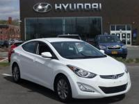 2014 Hyundai Elantra SE one owner with a perfect