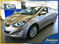 This 1-Owner Hyundai Elantra SE just came in off lease