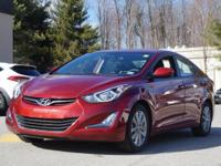 2014 Hyundai Elantra SE Venetian Red CARFAX One-Owner.