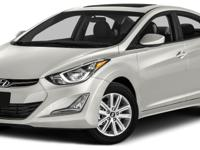 Options:  2014 Hyundai Elantra Se|Miles: 64710Color:
