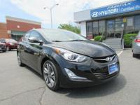 2014 Hyundai Elantra Limited In Phantom Black *