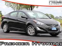 CARFAX One-Owner. Clean CARFAX. Black 2014 Hyundai