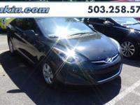 New Price! 2014 Hyundai Elantra 1.8L 4-Cylinder DOHC