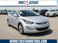 Get ready to go for a ride in this 2014 Hyundai Elantra