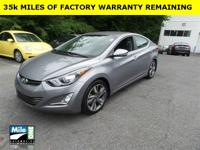 2014 HYUNDAI ELANTRA LIMITED***ONE OWNER***CLEAN