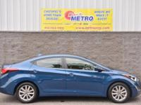 2014 Hyundai Elantra SE  in Windy Sea Blue, Bluetooth