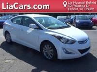 2014 Hyundai Elantra in Pearl White, 1 Owner!,