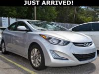 New Price! This Elantra features:  Clean CARFAX. CARFAX