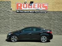 Check it out! This Elantra is beautiful! With the sleek