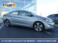 Check out this certified 2014 Hyundai Elantra Sport.