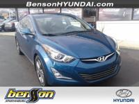HYUNDAI CERTIFIED, ONE OWNER, NON-SMOKER, LEATHER,