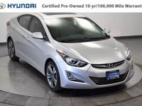 Step into the 2014 Hyundai Elantra! It offers great