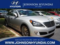 2014 Hyundai Equus Signature, Clean CarFax, and One