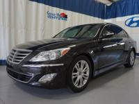 Brown 2014 Hyundai Genesis 3.8 RWD 8-Speed Automatic