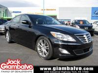 2014 HYUNDAI GENESIS 3.8 WITH PREMIUM AND TECH PACKAGE