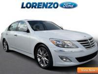 Options:  2014 Hyundai Genesis 3.8L|White/|V6 3.8 L