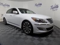 New Price! 2014 Hyundai Genesis Casablanca White