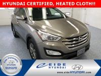 This AWD Santa Fe Sport Popular Equip Pkg is Mineral
