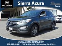 Recent Arrival! New Price! Santa Fe Sport 2.4L, 4D