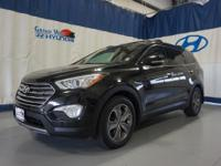 Black 2014 Hyundai Santa Fe Limited AWD 6-Speed