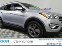 Just Reduced! Hyundai Santa Fe Limited CARFAX