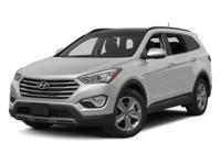 Santa Fe Limited, *Hyundai CERTIFIED*, *LOW MILES; for