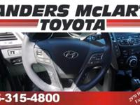 CarFax 1-Owner, This 2014 Hyundai Santa Fe AWD 4dr GLS