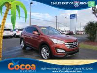 This 2014 Hyundai Santa Fe Sport 2.0L Turbo in Canyon