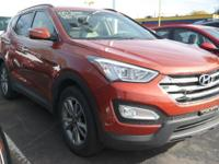 . GREAT MILES 20,776! Santa Fe Sport trim. Heated