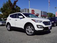 This 2014 Hyundai Santa Fe Sport 2.0L Turbo in Frost