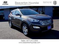 Brown 27/19 Highway/City MPG 2014 Hyundai Santa Fe