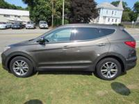 Look at this Turbo charged AWD Hyundai SAnte fe Sport!!