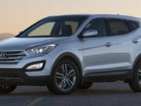 Load your family into the 2014 Hyundai Santa Fe Sport!