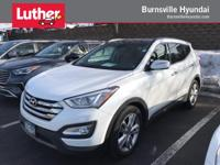 Santa Fe Sport trim. CARFAX 1-Owner, Hyundai Certified,