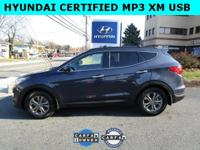 CARFAX One-Owner. Certified. Marlin Blue 2014 Hyundai