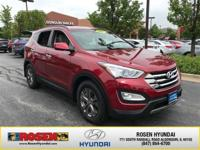 **CERTIFIED READY** 2014 Hyundai Santa Fe Sport With