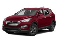 This 2014 Hyundai Santa Fe Sport 2.4L in Red features: